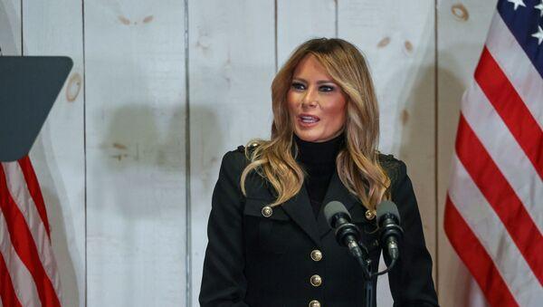 Melania Trump, la primera dama de EEUU - Sputnik Mundo