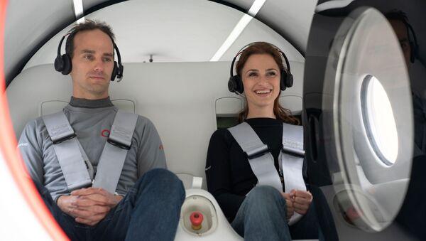 Prueba de pasajeros de Virgin Hyperloop - Sputnik Mundo
