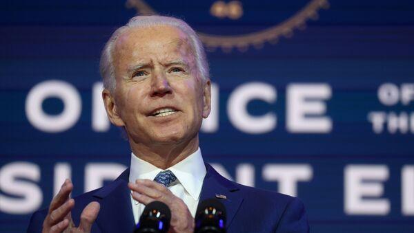 Joe Biden, el presidente electo de Estados Unidos - Sputnik Mundo