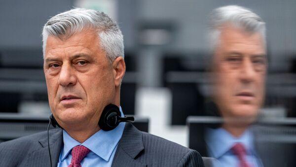 Hashim Thaci, expresidente de Kosovo - Sputnik Mundo