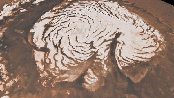 Capas de hielo en Marte - Sputnik Mundo