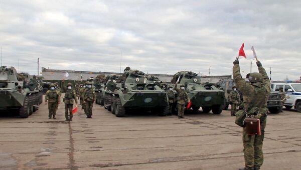 Las fuerzas de paz rusas - Sputnik Mundo