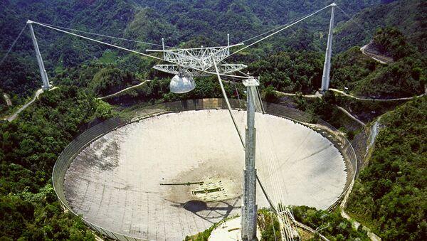 Radiotelescopio de Arecibo, Puerto Rico - Sputnik Mundo