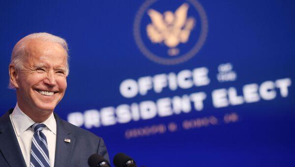 Joe Biden, candidato a la presidencia de EEUU - Sputnik Mundo