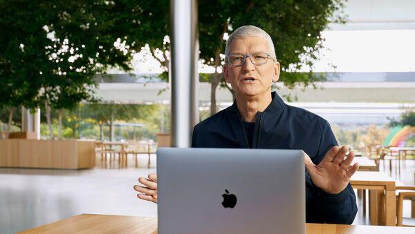 Tim Cook, director ejecutivo de Apple - Sputnik Mundo