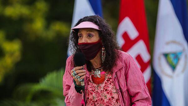 Rosario Murillo, vicepresidenta de Nicaragua - Sputnik Mundo