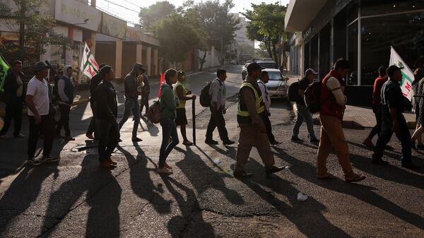 Campesinos marchan en Asunción, Paraguay - Sputnik Mundo