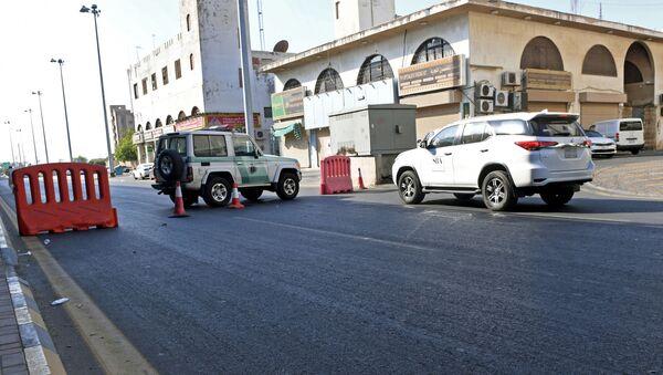 Siuación tras la explosión en un cementerio para no musulmanes en Yeda - Sputnik Mundo