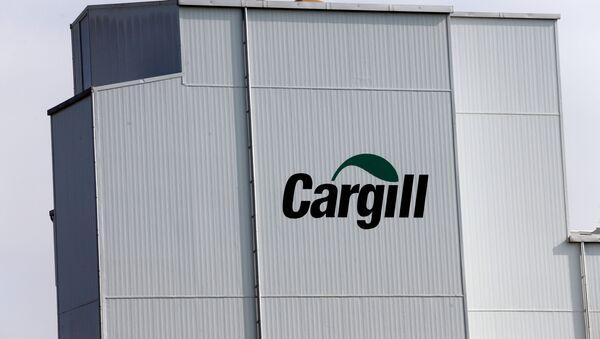 El logo de la empresa de alimentos Cargill - Sputnik Mundo