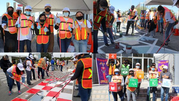 Voluntarios del Reynosa Placemaking - Sputnik Mundo