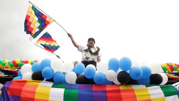Evo Morales en Chimoré - Sputnik Mundo