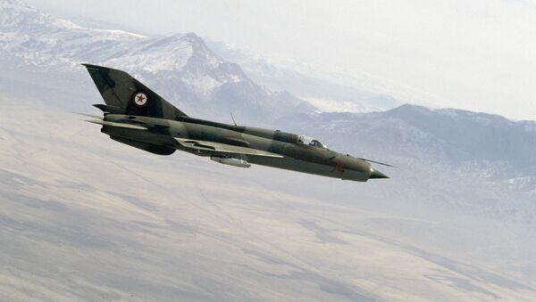 Un MiG-21 (imagen referencial) - Sputnik Mundo