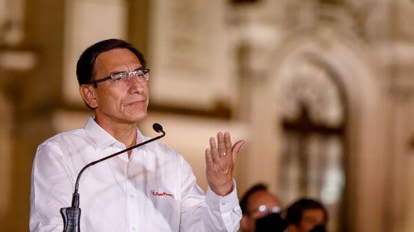 Martín Vizcarra, expresidente de Perú - Sputnik Mundo