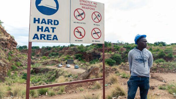 Mina de oro en Zimbabue  - Sputnik Mundo