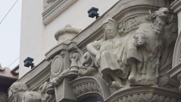 Estatua restaurada de Palencia - Sputnik Mundo