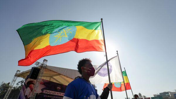 La bandera de Etiopía - Sputnik Mundo