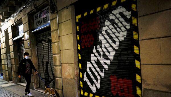 La situación en Barcelona, España - Sputnik Mundo
