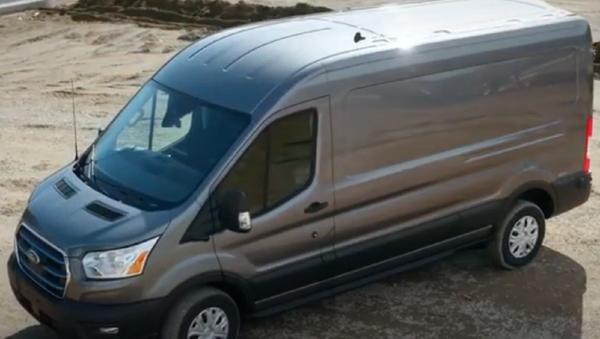 furgoneta eléctrica 2022 E-Transit de Ford - Sputnik Mundo