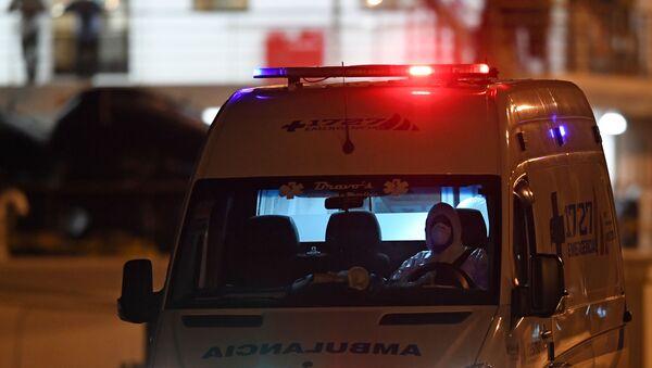 Ambulancia en Uruguay - Sputnik Mundo
