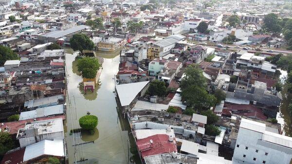 Inundaciones en Tabasco - Sputnik Mundo
