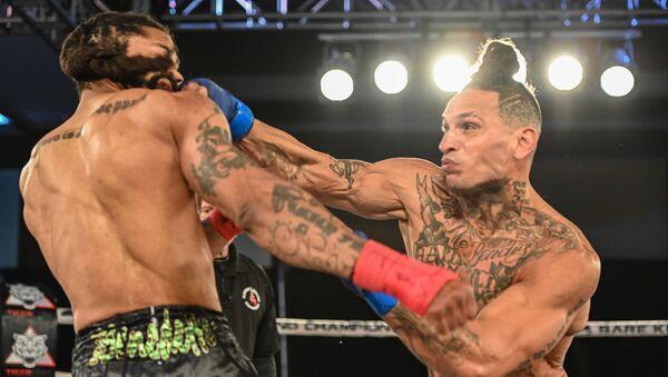Uly Diaz noquea a Donelei Benedetto en una pelea a puño limpio - Sputnik Mundo