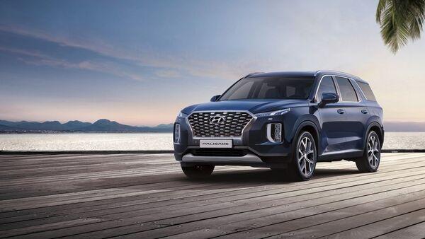 Hyundai Palisade (imagen referencial) - Sputnik Mundo