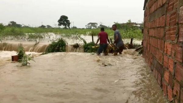 Consecuencias del huracán Iota en Colombia - Sputnik Mundo
