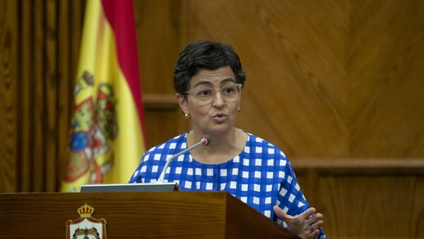 La ministra de Asuntos Exteriores de España, Arancha González Laya - Sputnik Mundo