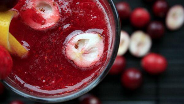 Una bebida de frutas, referencial - Sputnik Mundo