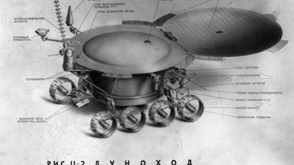 Устройство передвижной лаборатории Луноход-1 - Sputnik Mundo