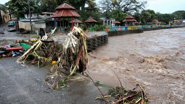 Consecuencias del huracán Iota en Nicaragua - Sputnik Mundo