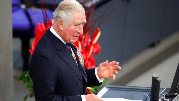 El príncipe británico Carlos durante su discurso en Berlín - Sputnik Mundo
