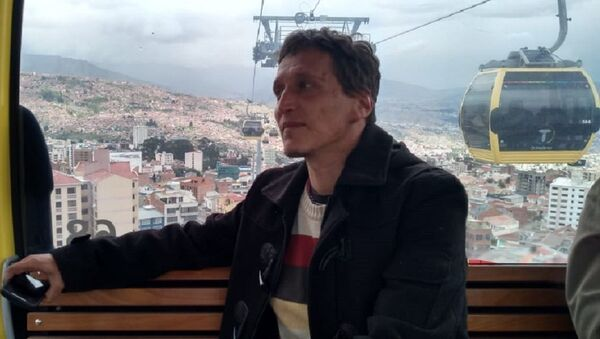 Periodista argentino Sebastián Moro - Sputnik Mundo