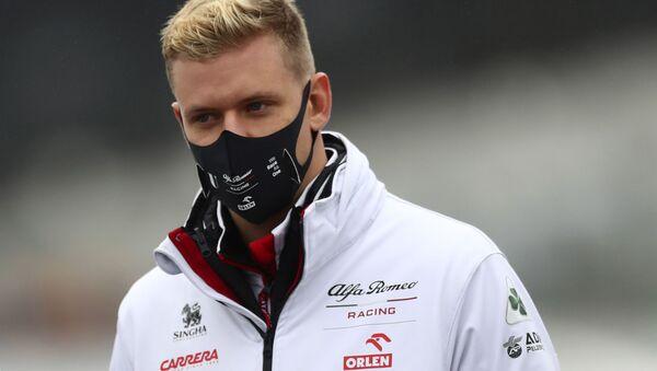 Mick Schumacher, piloto de carreras de la Fórmula 2 - Sputnik Mundo