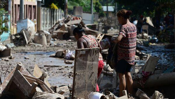 Huracán Iota en Honduras  - Sputnik Mundo