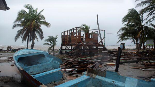 Consecuencias del huracán Iota en Puerto Cabezas, Nicaragua - Sputnik Mundo