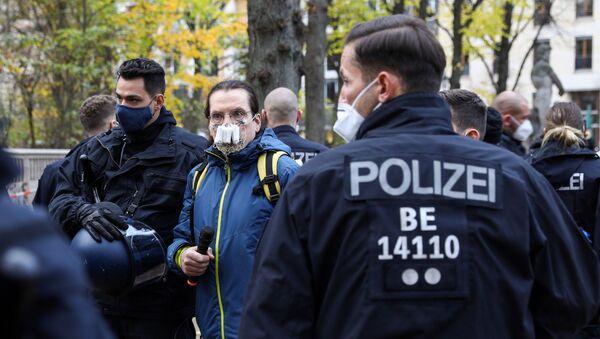 Protestas en Berlín, Alemania - Sputnik Mundo