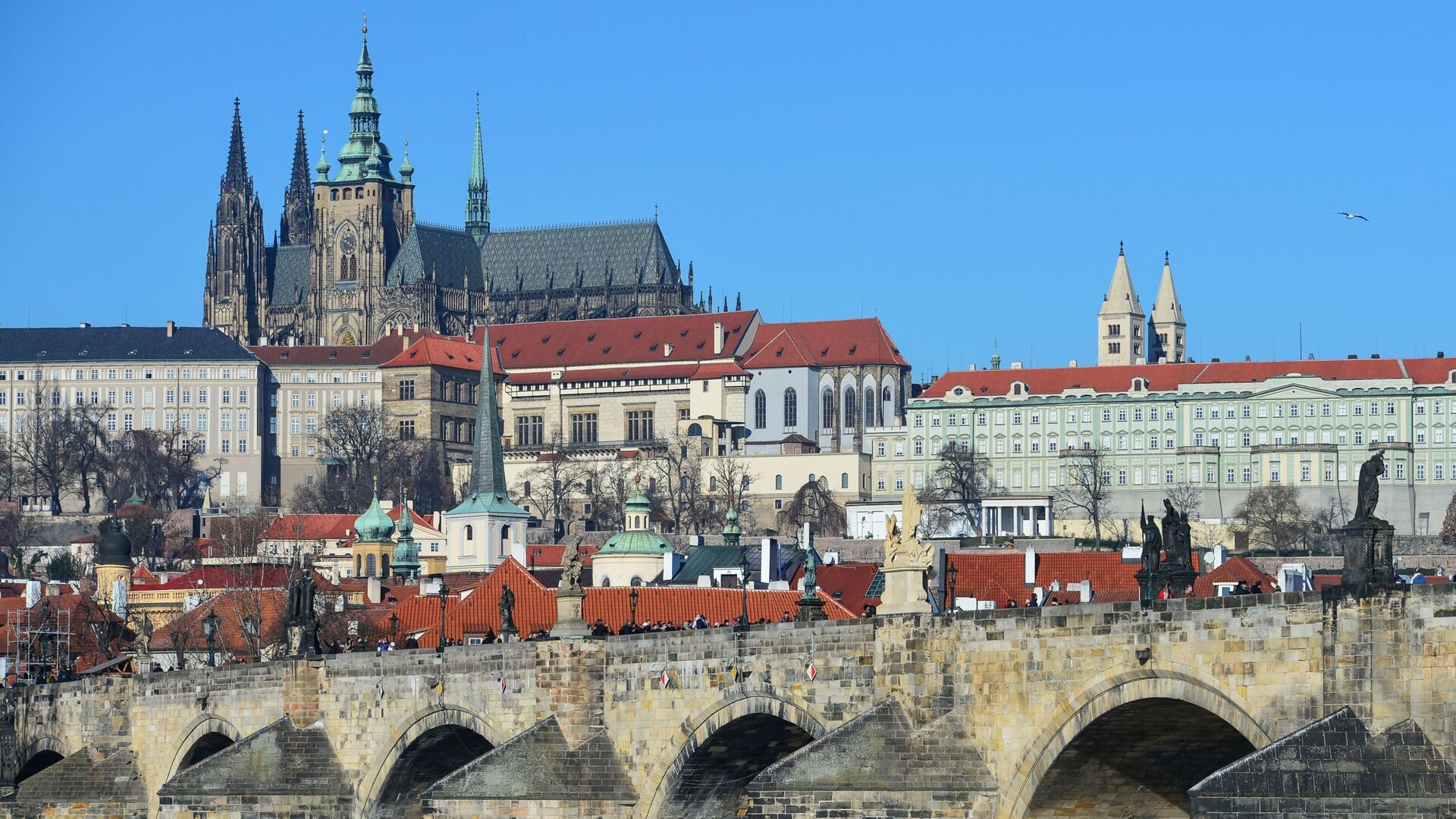 Карлов мост в Праге, Чехия - Sputnik Mundo, 1920, 19.04.2021