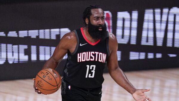 James Harden, jugador de baloncesto de los Houston Rockets - Sputnik Mundo