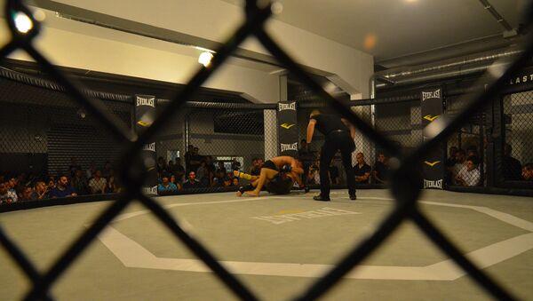 Un combate de MMA  - Sputnik Mundo