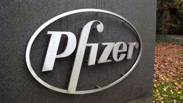 Logo de Pfizer - Sputnik Mundo