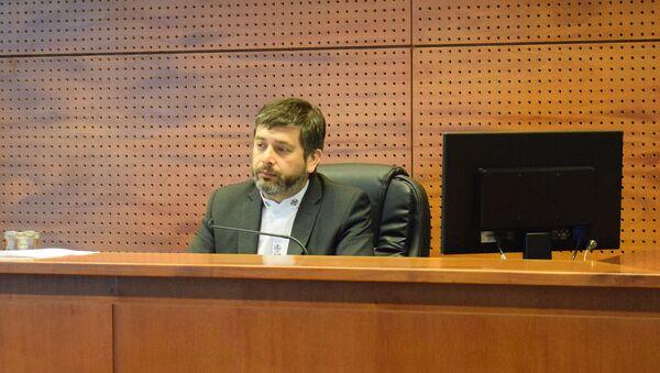 Juez Daniel Urrutia Laubreaux - Sputnik Mundo