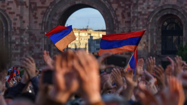 Banderas de Armenia - Sputnik Mundo