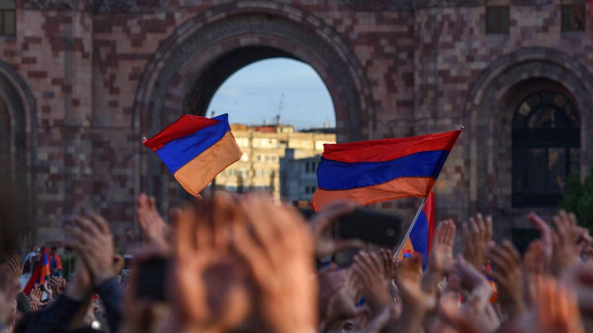 Banderas de Armenia - Sputnik Mundo, 1920, 23.04.2021