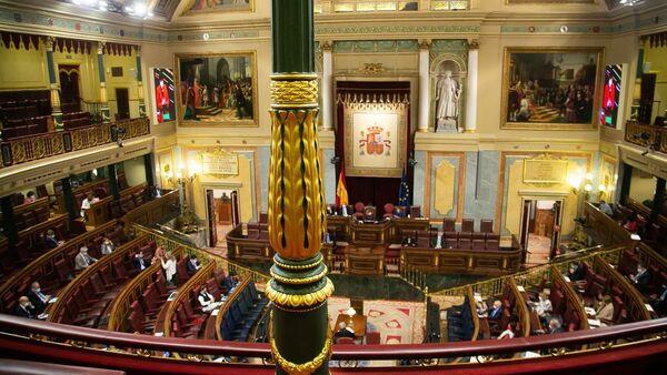 El pleno del Congreso de los Diputados durante el debate de la ley de Educación - Sputnik Mundo