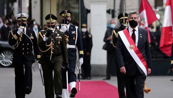 Francisco Sagasti, presidente de Perú  - Sputnik Mundo
