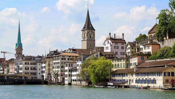 Zurich, ciudad suiza (imagen referencial) - Sputnik Mundo