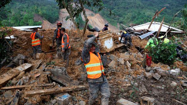 Consecuencias del huracán Iota en Guatemala - Sputnik Mundo