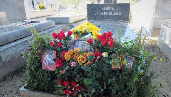 Tumba de Carrero Blanco en el cementerio de Mingorrubio (Madrid) - Sputnik Mundo