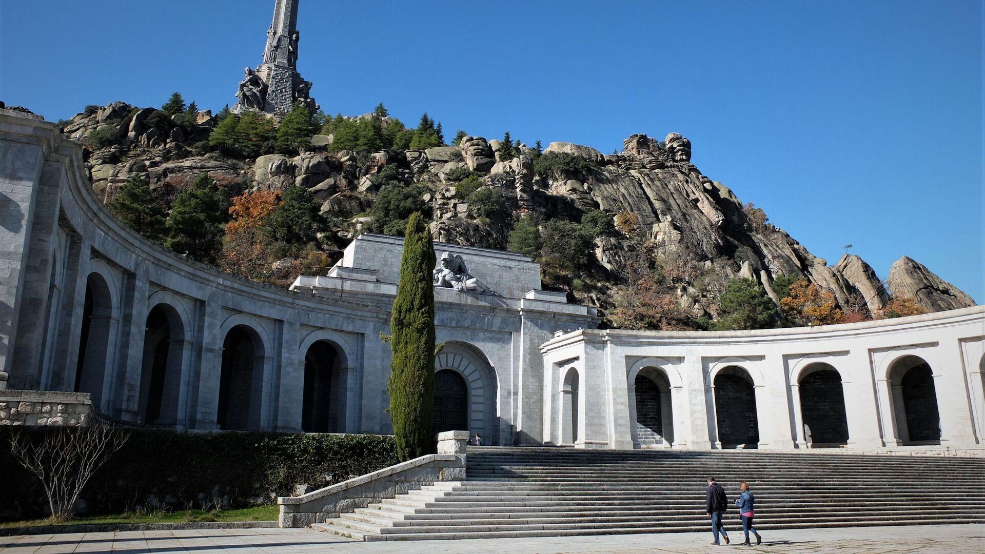 Patio del Valle de los Caídos, en Madrid - Sputnik Mundo, 1920, 26.03.2021